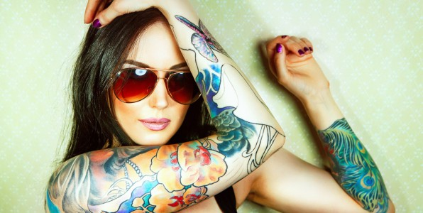 Les tatouages colorés sont les plus ardus à effacer