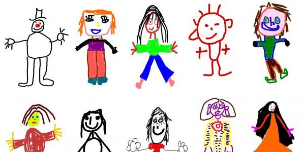 Les dessins des enfants des indicateurs de leur - Le dessin du bonhomme ...