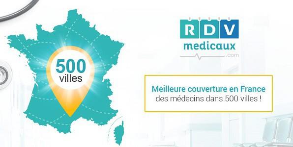 Prise de rendez-vous sur internet avec RDV Médicaux