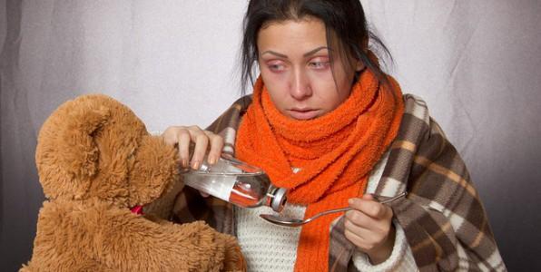 Traitement contre les symptômes grippaux