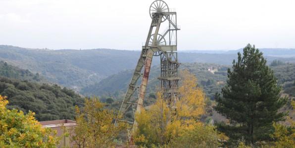 Ancien puits de la mine de Salsigne