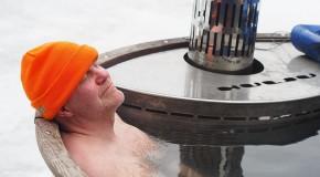bain chaud sport peau température élévation calories glicémie
