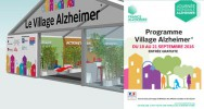 Alzheimer village place de la Bastille conférence atelier soutien maladie association France Alzheimer